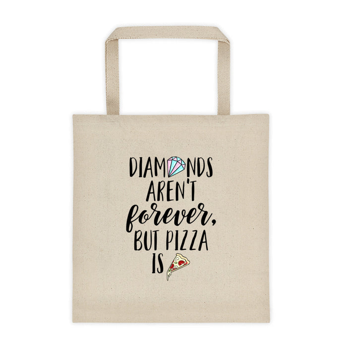 Cute Feminist T Shirt Diamonds Aren't Forever Tote Bag - Everyday Unicorns