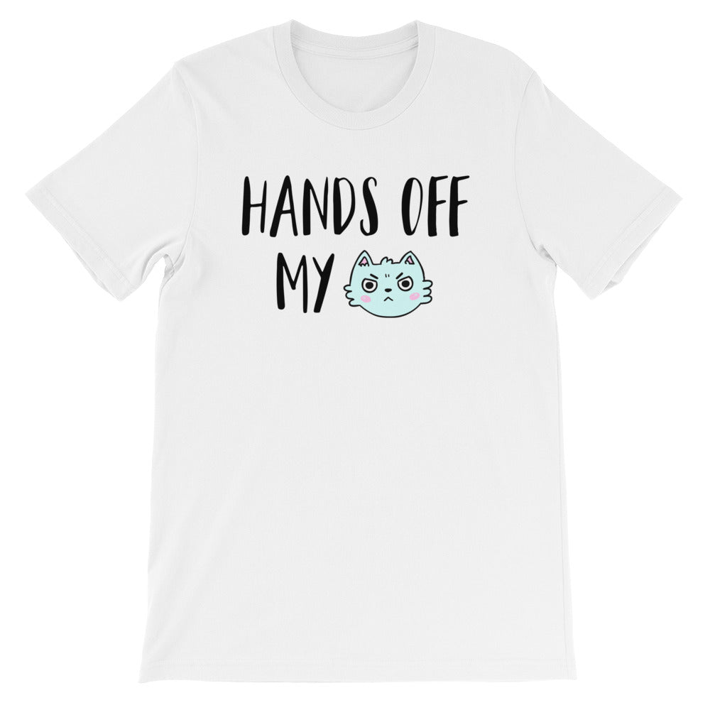 Cute Feminist T Shirt Hands Off My ______ Short-Sleeve Unisex T-Shirt - Everyday Unicorns