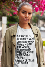 Cute Feminist T Shirt The Future is ALL Women Short-Sleeve Unisex T-Shirt - Everyday Unicorns