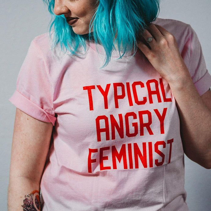 Typical Angry Feminist Short-Sleeve Unisex T-Shirt