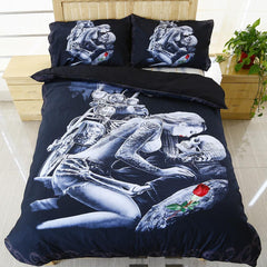 Ride or Die Lovers Bedding Set