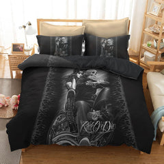 Ride or Die Motorcycle Bedding Set