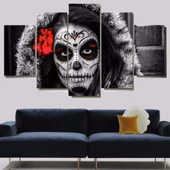 JLS™Skull Makeup Wall Art
