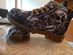 Mens Skull Boots - LIMITED EDITION