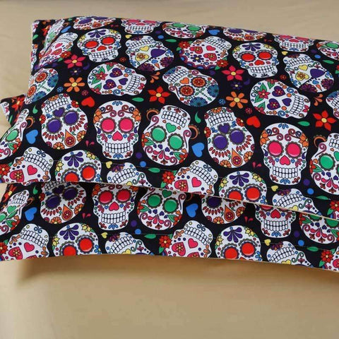 NEW Premium Sugar Skull Bedding Set
