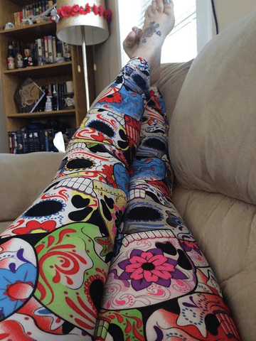 JLS™Day Of The Dead Leggings