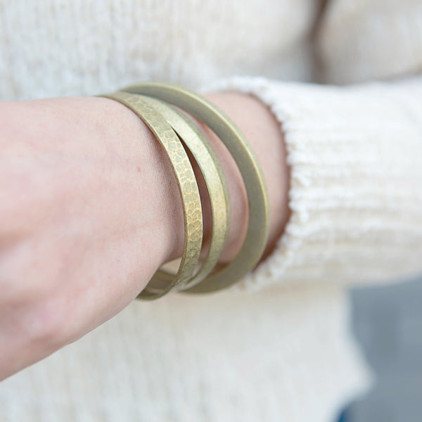 Brass Bangle-3 Options