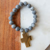 Cross Gemstone Bracelets