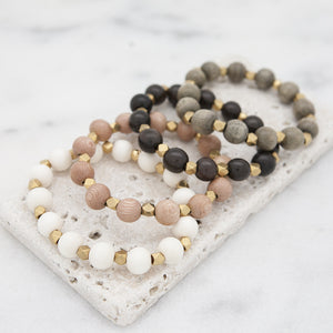Essentials Stretch Bracelet, 10mm-4 Options