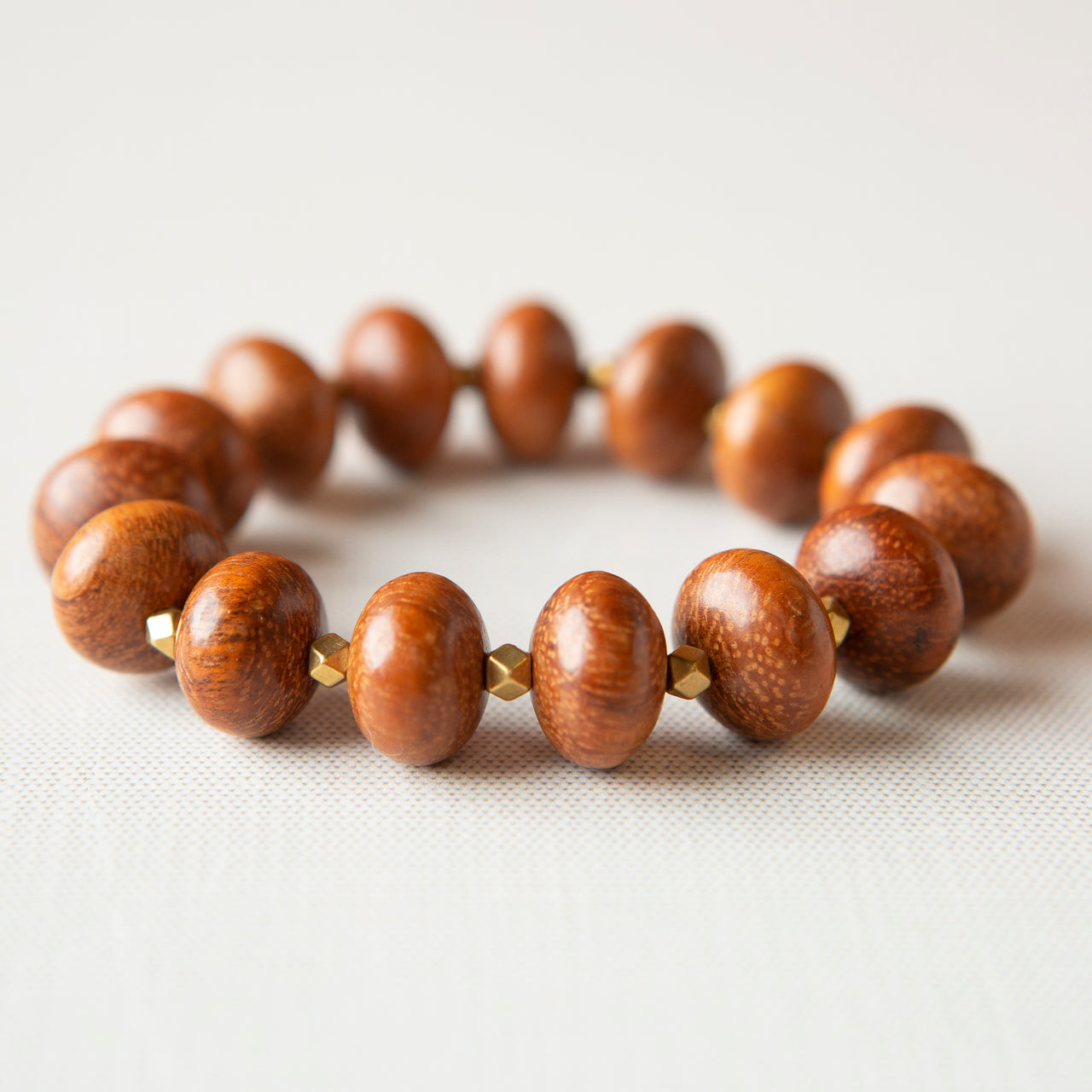 Abacus Bracelet-Brown