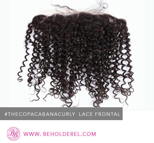 Copacabana Curly<br>Lace Frontal Closure