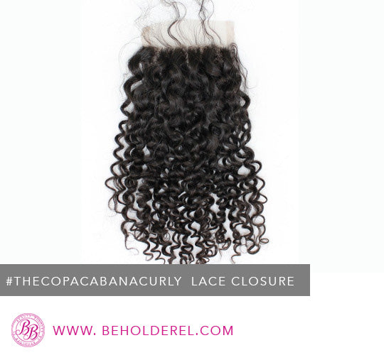 Brazilian Curly<br>Lace Closure<br>(The Copacabana Curly Closure)