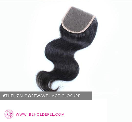 Malaysian Loose Wave<br>Lace Closure (The Liza Loose Wave Lace Closure)