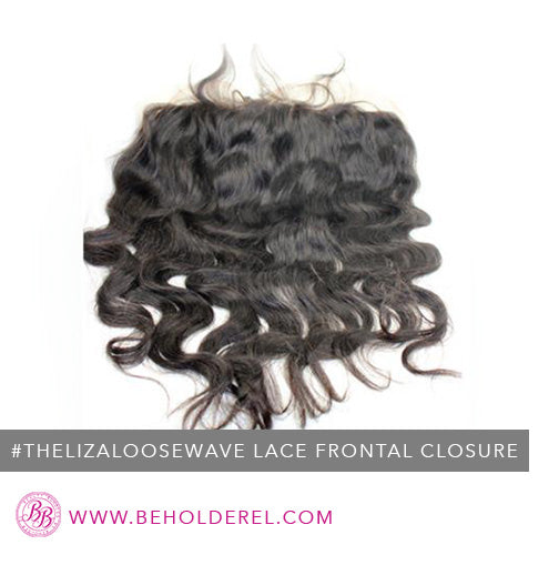 Malaysian<br>Lace Frontal Closure<br>(The Liza Loose Wave Lace Frontal Closure)