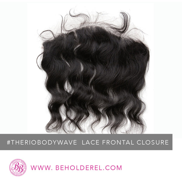 Brazilian Body Wave<br>Lace Frontal Closure<br>(The Rio Body Wave Lace Frontal Closure)