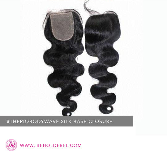 Brazilian Body Wave Silk<br>Base Closure <br>(The Rio Body Wave Silk Base Closure)