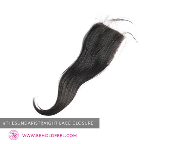 Indian Straight<br>Lace Closure<br>(The Sundari Straight Lace Closure)