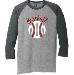3/4 Sleeve Raglan Baseball Mom Tee