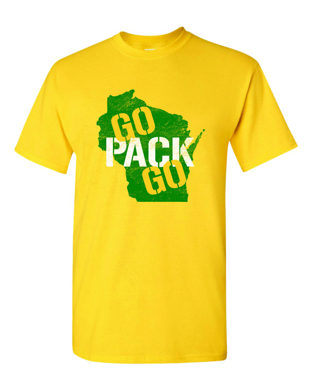 Wisconsin Go Pack Go Packers tee