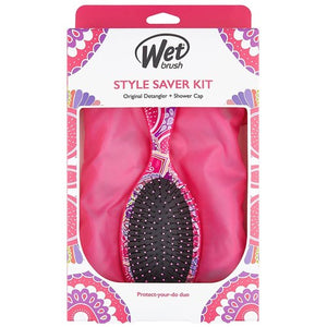 Wet Brush,Wet Brush - Style Saver Kit Pink, NZ Stockist, House Of Hair, Pleasant Point