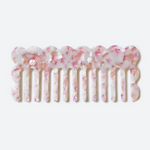 Blush Wide Tooth Comb