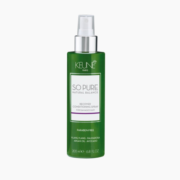 Keune So Pure,So Pure Recover conditioner spray 200mls, NZ Stockist, House Of Hair, Pleasant Point