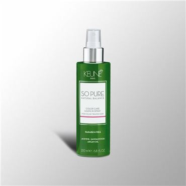 Keune So Pure,So Pure Color Leave-in-spray 200mls, NZ Stockist, House Of Hair, Pleasant Point