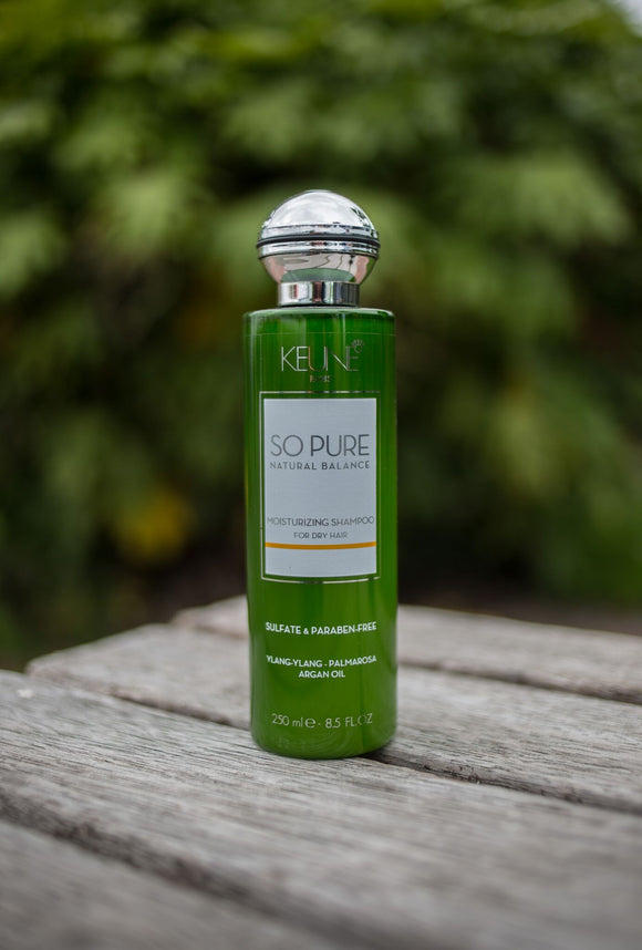 Keune So Pure,So Pure Moisturizing Shampoo 250mls, NZ Stockist, House Of Hair, Pleasant Point