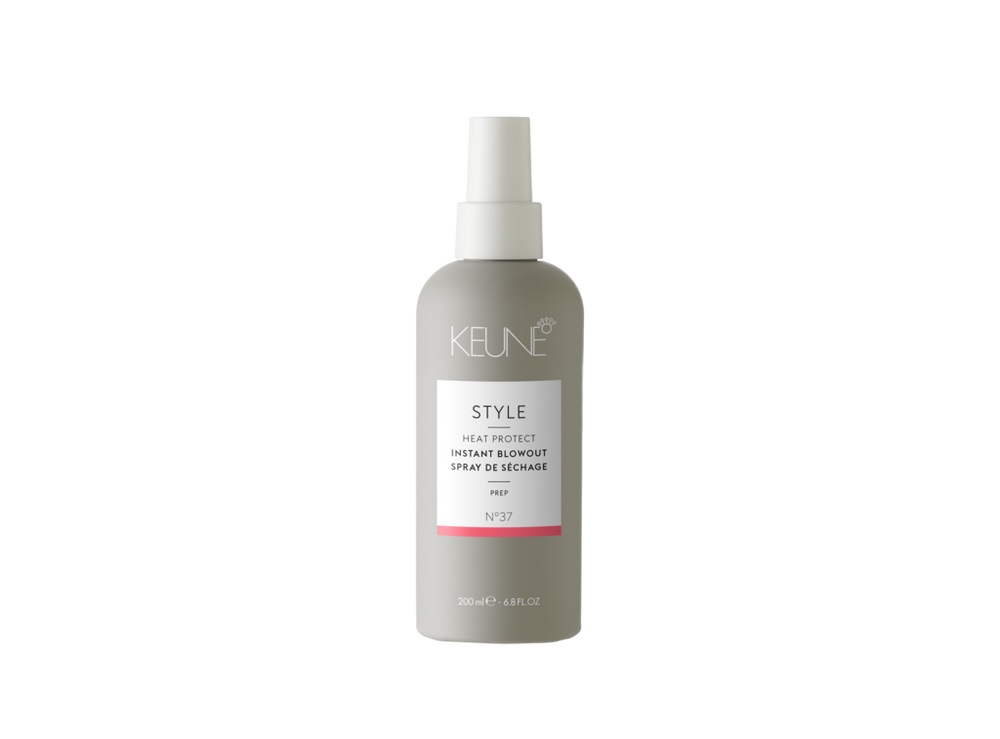 Keune Style,Heat Protect instant Blowout Spray, NZ Stockist, House Of Hair, Pleasant Point