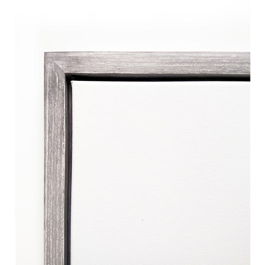 Sea Distressed Custom Canvas Floater Frame - Drop in Style Frame ...