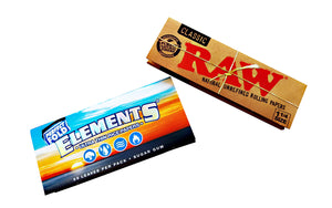 Included rolling papers in smoking kits