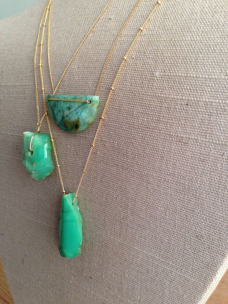 Gemstone Greens Blues