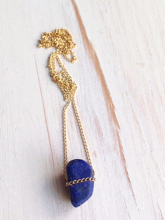 Lapis Layering Necklace