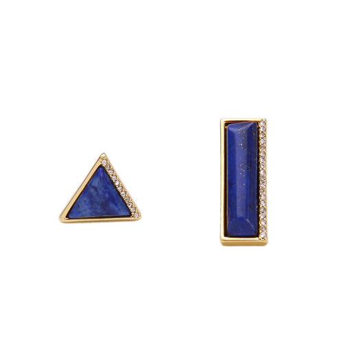 Mismatched Lapis Earrings