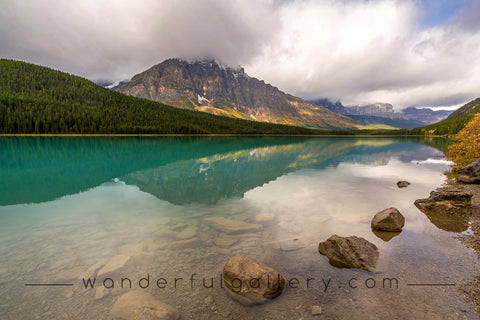 Waterfowl Lake, Banff.