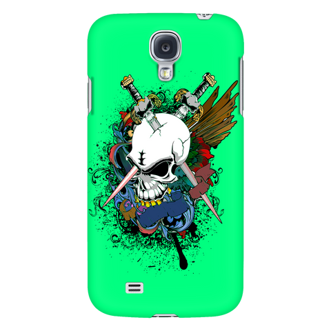 Galaxy S4 MVP Crazy Green
