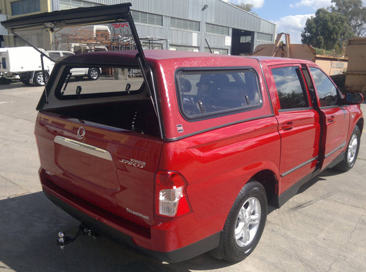TRADIE TEXTURED CANOPY TO SUIT SSANGYONG ACTYON DUAL CAB 2010+