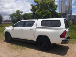 TRADIE SMOOTH CANOPY TO SUIT TOYOTA HILUX SR/WORKMATE DUAL CAB 2015+