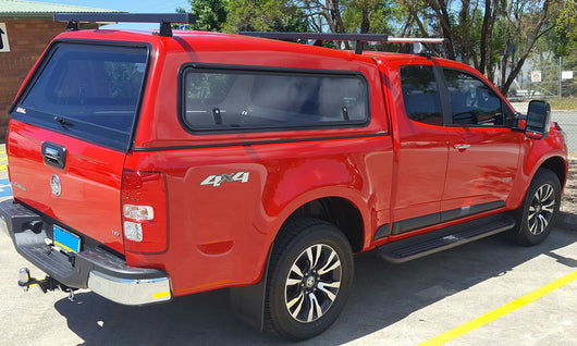DELUXE SMOOTH CANOPY TO SUIT HOLDEN COLORADO EXTRA/KING CAB 2012+