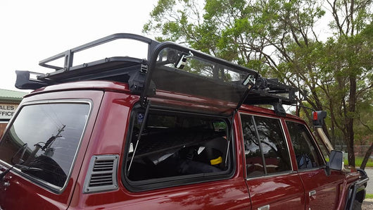 LANDCRUISER 60 SERIES LIFT UP WINDOWS