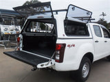 TRADIE TEXTURED CANOPY TO SUIT ISUZU DMAX DUAL CAB 2012+