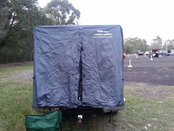 CANOPY CAMPER TENT SLEEVE - FITS ALL DUAL STYLESIDE UTES WITH CANOPIES