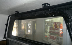 INTERNAL ROOF RACK BARS WITH 1500MM EXTERNAL ROOF RACKS - FITS MOST CANOPIES