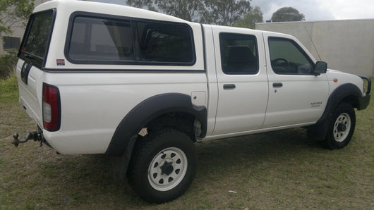 TRADIE TEXTURED CANOPY TO SUIT NISSAN D22 DUAL CAB 2009-2012