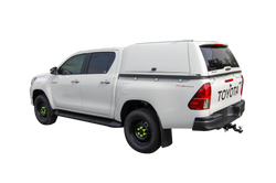 TRADE PRO PLUS CANOPY TO SUIT TOYOTA HILUX DUAL CAB 2015+ J DECK/SR