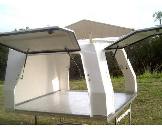 INDUSTRIAL SERIES CANOPY - DUAL CAB - INCLUDING TRAY FLOOR 1850mm X 1850mm x 1010mm