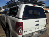 TRADIE SMOOTH CANOPY TO SUIT FORD RANGER DUAL CAB 2012-CURRENT