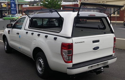 TRADIE TEXTURED CANOPY TO SUIT FORD RANGER SINGLE CAB 2012+