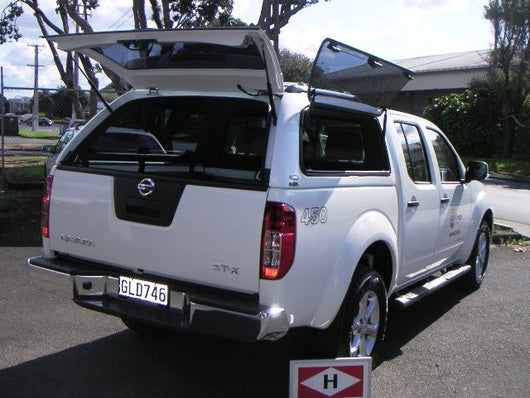 PREMIUM SMOOTH CANOPY TO SUIT NISSAN D40 DUAL CAB 2005-2014