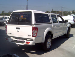 TRADIE TEXTURED CANOPY TO SUIT GREAT WALL V240/V200 DUAL CAB 2010-2015